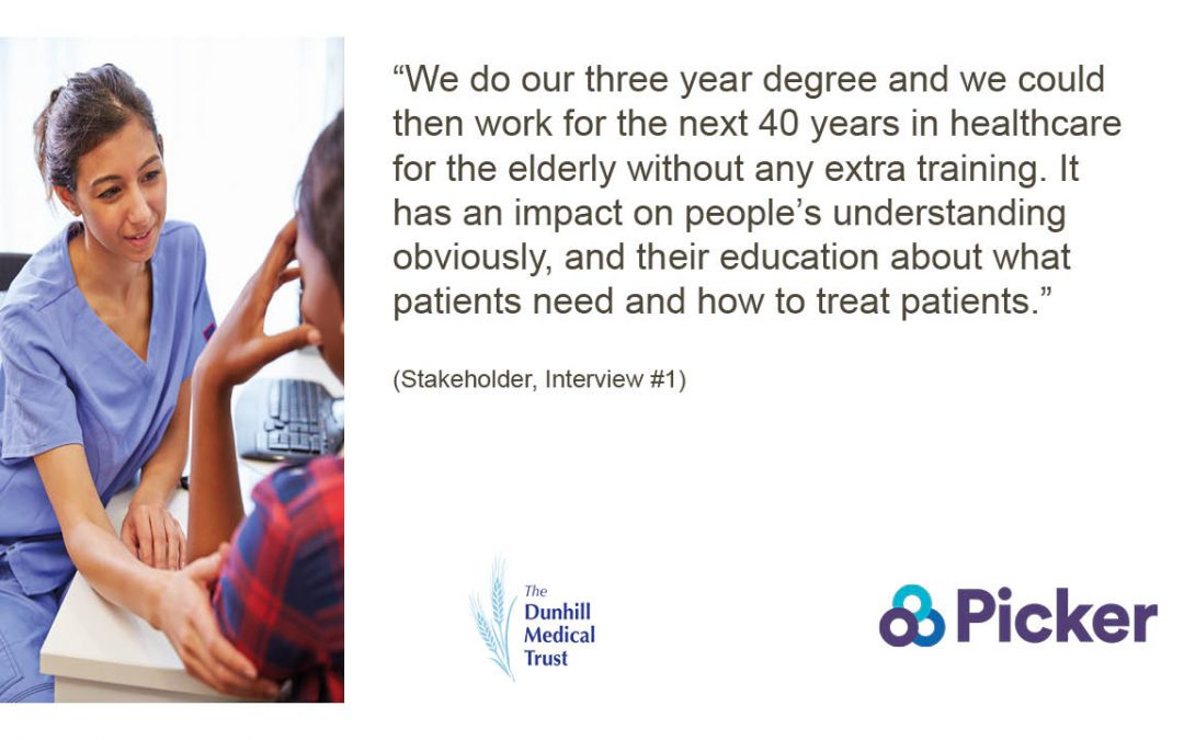 Report into education and training for workforce that cares for older people calls for change