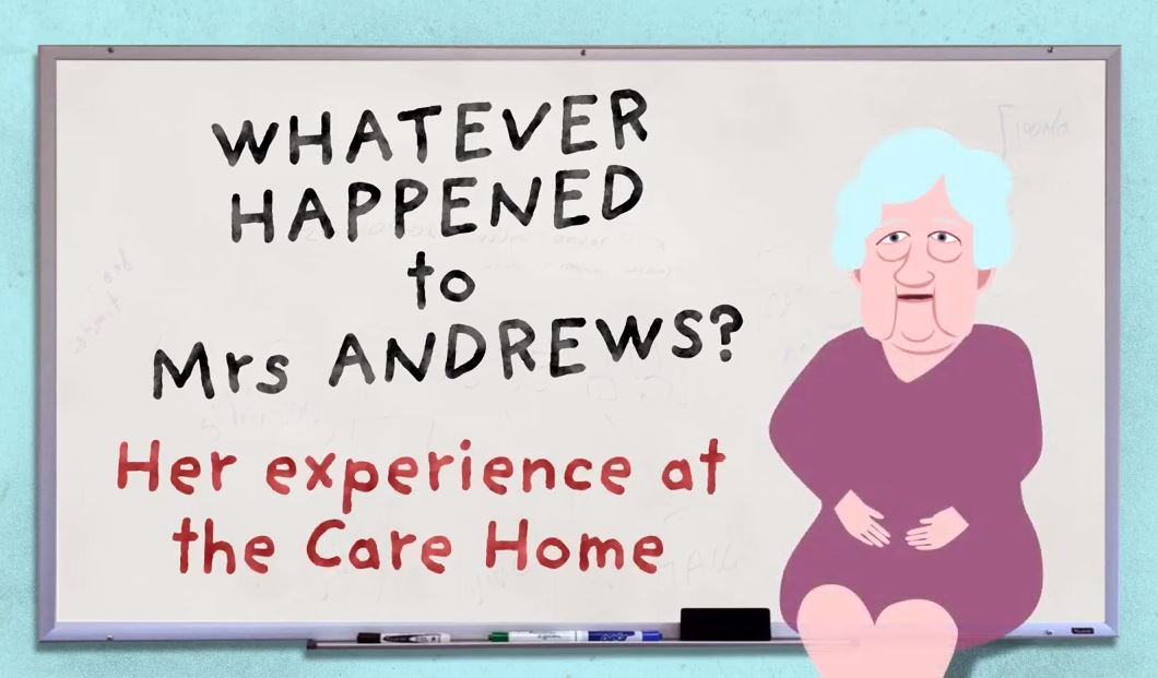 Whatever happened to Mrs Andrews? How Good Healthcare in Care Homes can Save the Day!