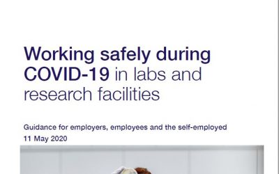 Government guidance for safe working in labs and research facilities now available