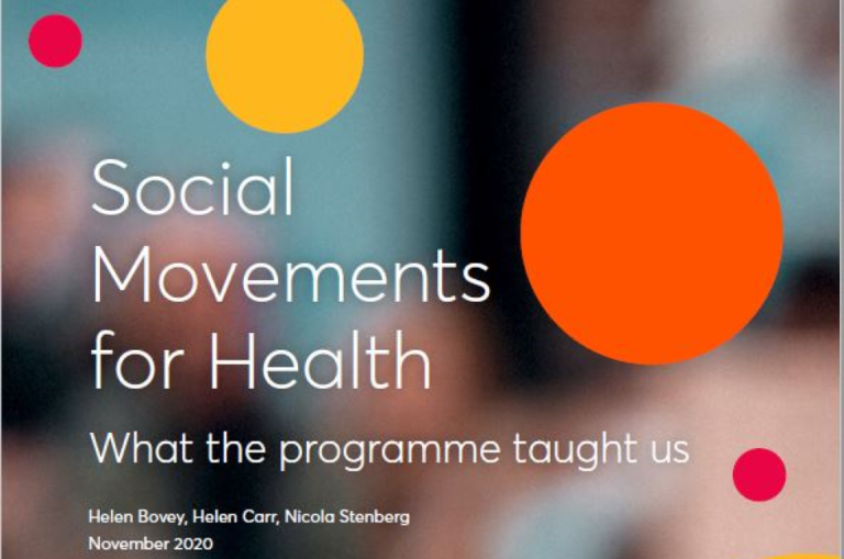 Social Movements for Health - What the programme taught us